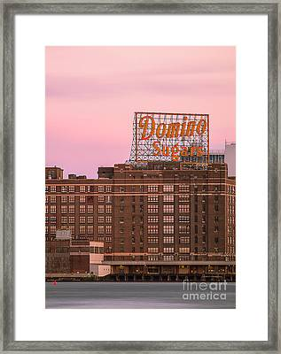 Domino Sugars Framed Print by Paul Frederiksen