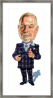 Don Grapes Cherry Framed Print by Art