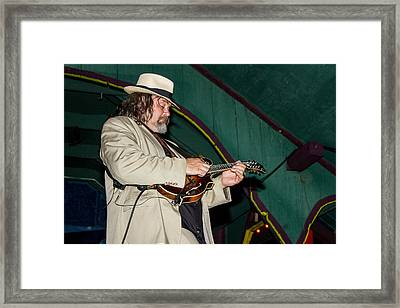 Don Julin  Framed Print by Bill Gallagher