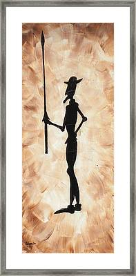 Don Quijote Framed Print by Edwin Alverio