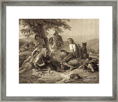 Don Quixote 1845 Framed Print by Padre Art