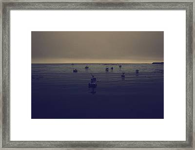Done For The Day Framed Print by Laurie Search
