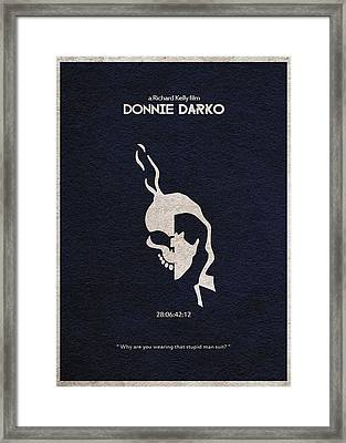 Donnie Darko Framed Print by Ayse Deniz