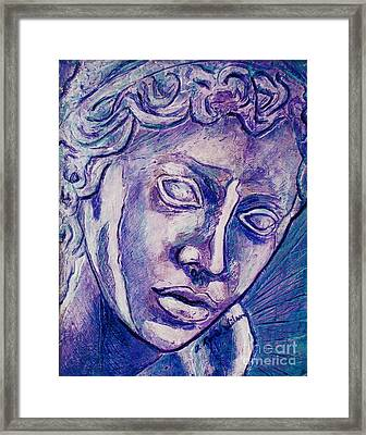 Don't Blink Framed Print by D Renee Wilson