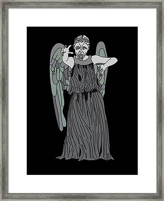 Dont Blink Framed Print by Jera Sky