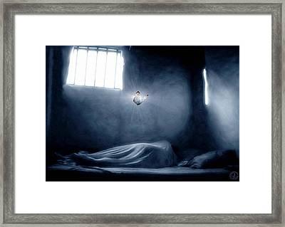 Don't Give Up Framed Print by Gun Legler
