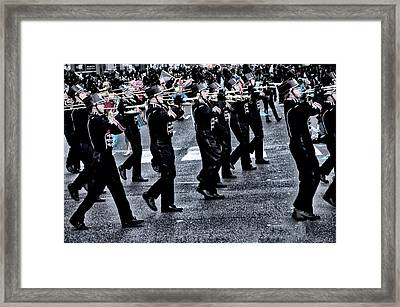 Don't Let The Parade Pass You By Framed Print by Bill Cannon