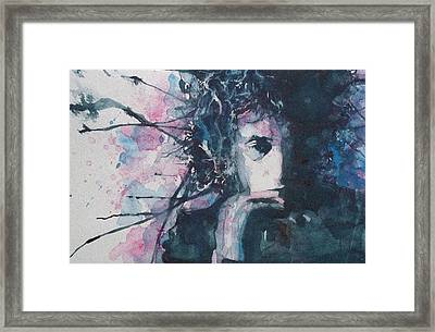 Don't Think Twice It's Alright Framed Print by Paul Lovering