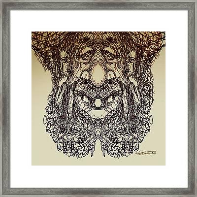 doodle923A Framed Print by Nate Owens