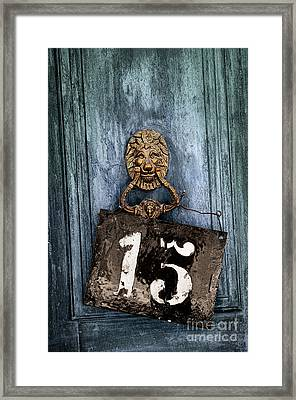 Door 15 Framed Print by Carlos Caetano