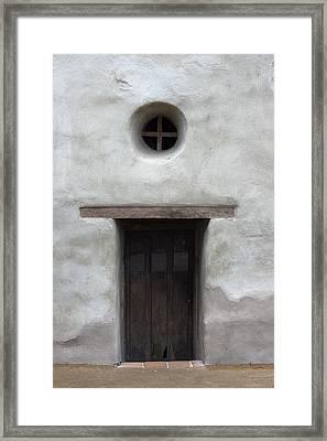 Door-cc Framed Print by Joey  Maganini