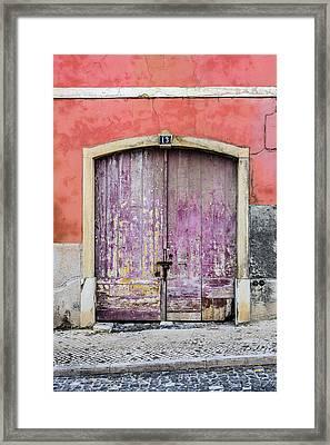 Door No 13 Framed Print by Marco Oliveira