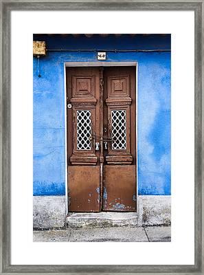 Door No 44 Framed Print by Marco Oliveira