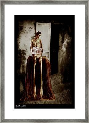 Door Prize Framed Print by Roch  Fautch