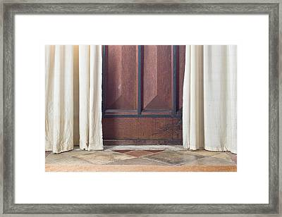 Door  Framed Print by Tom Gowanlock