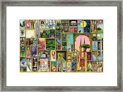 Doors Open Framed Print by Colin Thompson