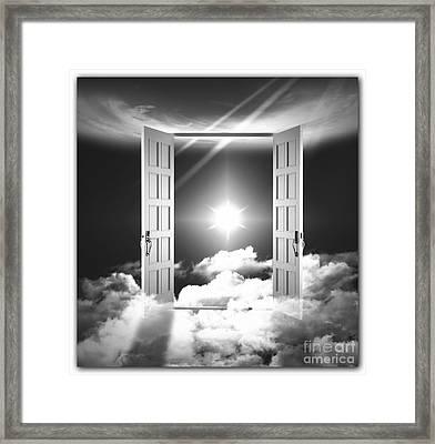 Doors To Paradise Framed Print by Stefano Senise