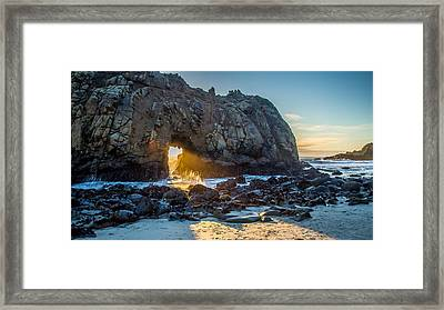 Doorway To Heaven Framed Print by Pierre Leclerc Photography