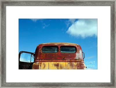 Doorway To Heaven - Rural America  Framed Print by Steven  Digman