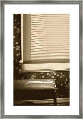 Dorment Shadows Framed Print by The Art of Marsha Charlebois
