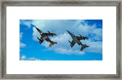 Dornier Alpha Jets Framed Print by Bianca Nadeau
