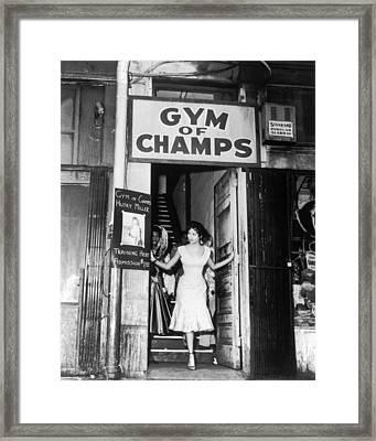 Dorothy Dandridge Framed Print by Silver Screen