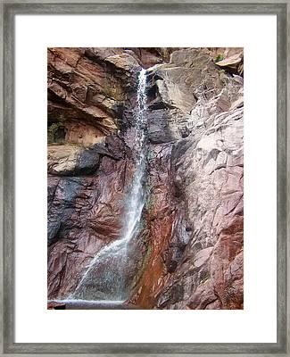 Dorothy Falls Main Waterfall Framed Print by Chris Flees