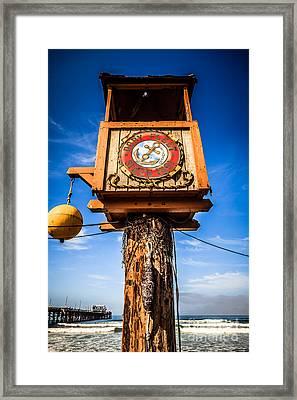 Dory Fleet Crows Nest In Newport Beach California Framed Print by Paul Velgos