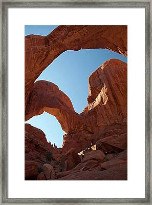 Double Arch Framed Print by Jim West