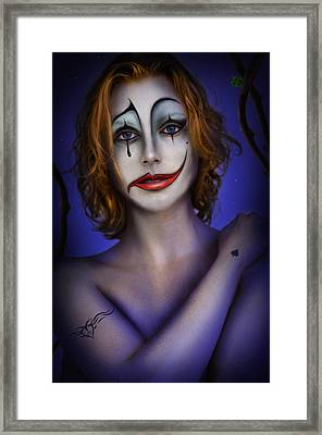 Double Face Framed Print by Alessandro Della Pietra