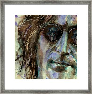 Double Fantasy Framed Print by Paul Lovering