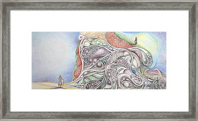 Double Life 1 Framed Print by Art Ina Pavelescu