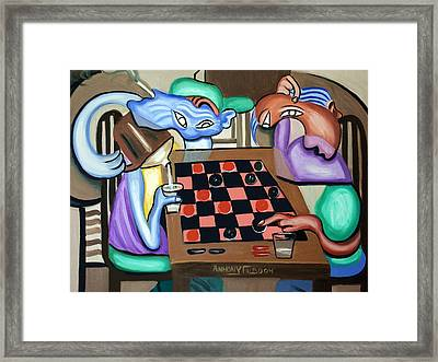 Double Or Nothing Framed Print by Anthony Falbo
