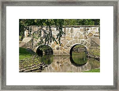 Doubles Framed Print by Judy  Johnson