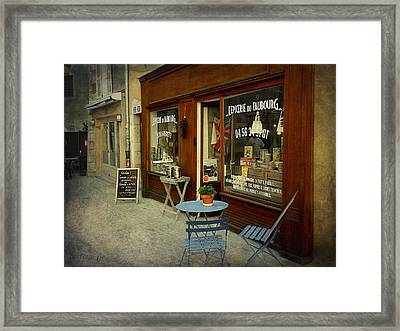 Douce France - Annecy Framed Print by Barbara Orenya
