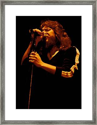 Doug Gray Of The Marshall Tucker Band At The Cow Palace Framed Print by Daniel Larsen