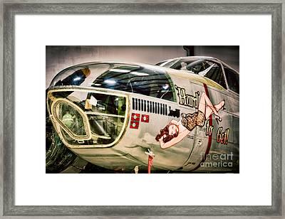 Douglas A-26c Invader Framed Print by Inge Johnsson