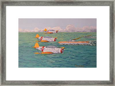 Douglas Devastators Framed Print by Murray McLeod