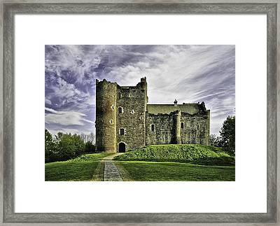 Doune Castle Framed Print by Buster Brown