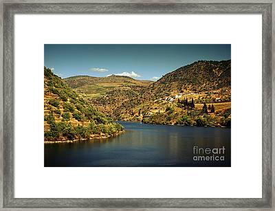 Douro Landscape Il Framed Print by Carlos Caetano