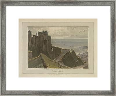 Dover Castle Framed Print by British Library
