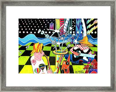 Down By The River Framed Print by Genevieve Esson