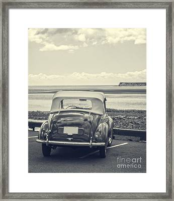 Down By The Shore Framed Print by Edward Fielding