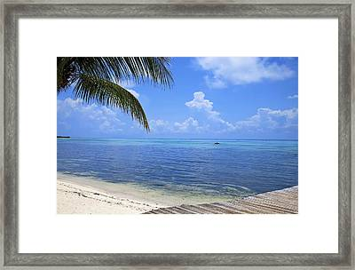 Down Island Framed Print by Stephen Anderson