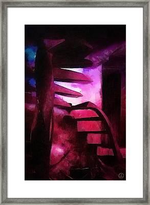 Down Or Up Framed Print by Gun Legler