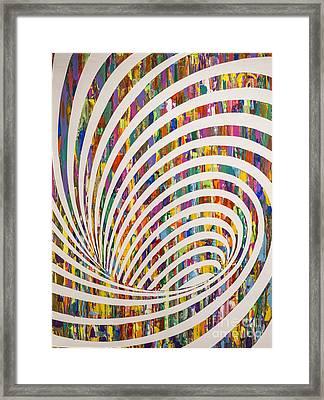 Down The Rabbithole Framed Print by Sean Ward