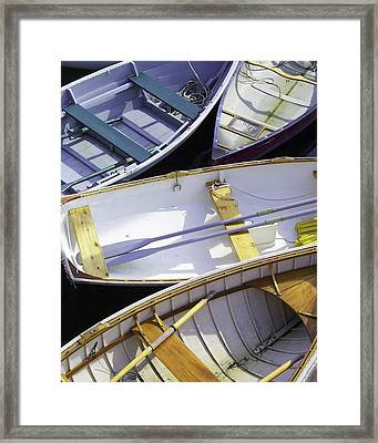 Downeast Gridlock Framed Print by Brent L Ander