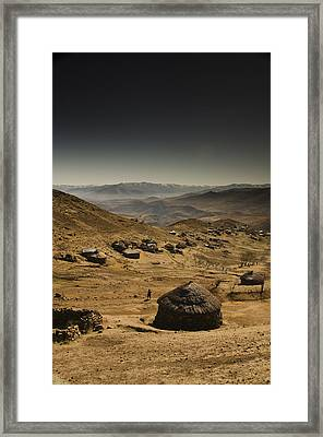 Downhill Framed Print by Aaron S Bedell