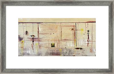 Downreaching Framed Print by Cheryl Poulin