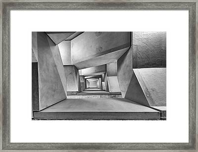Downstairs Framed Print by Guy Goetzinger